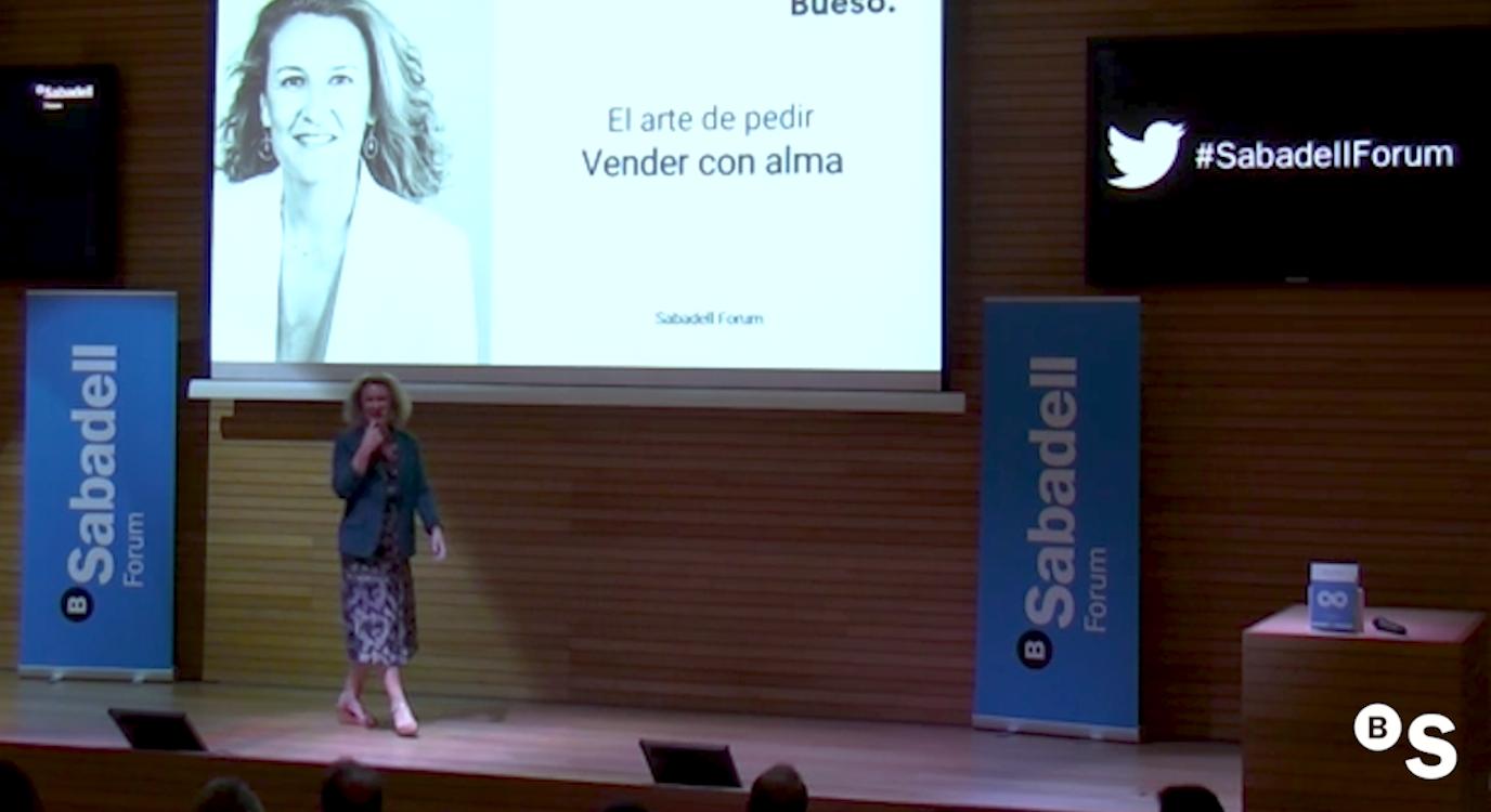El arte de pedir, con Silvia Bueso. Sabadell Forum