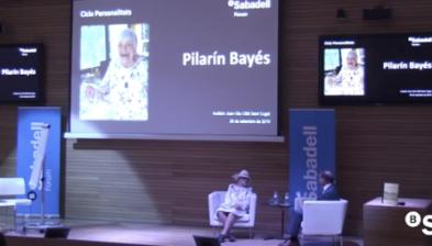 Pilarín Bayés, el traç que no s'atura. Sabadell Forum
