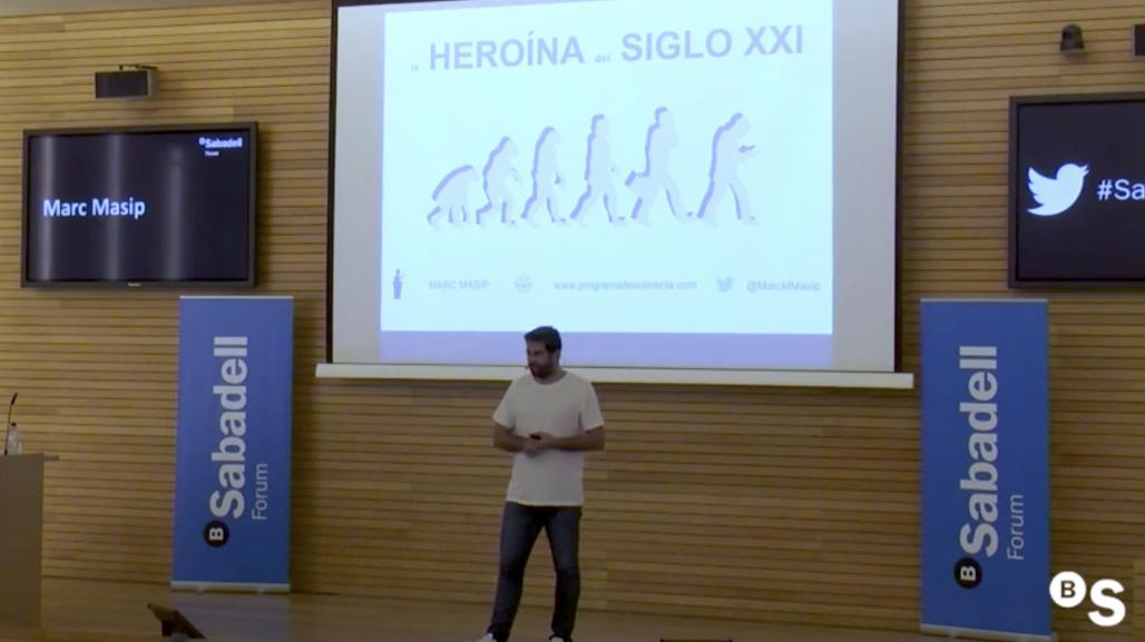 Cómo hacer un buen uso de la tecnología, con Marc Masip. Sabadell Forum