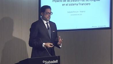 Efecto de las big tech en el sistema financiero. Sabadell Forum