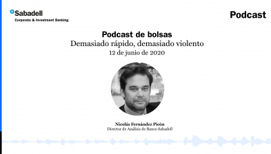 Podcast de bolsas: Demasiado rápido, demasiado violento. 12 de junio de 2020