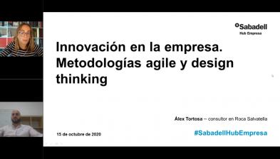 Innovación en la empresa. Metodologías agile y design thinking