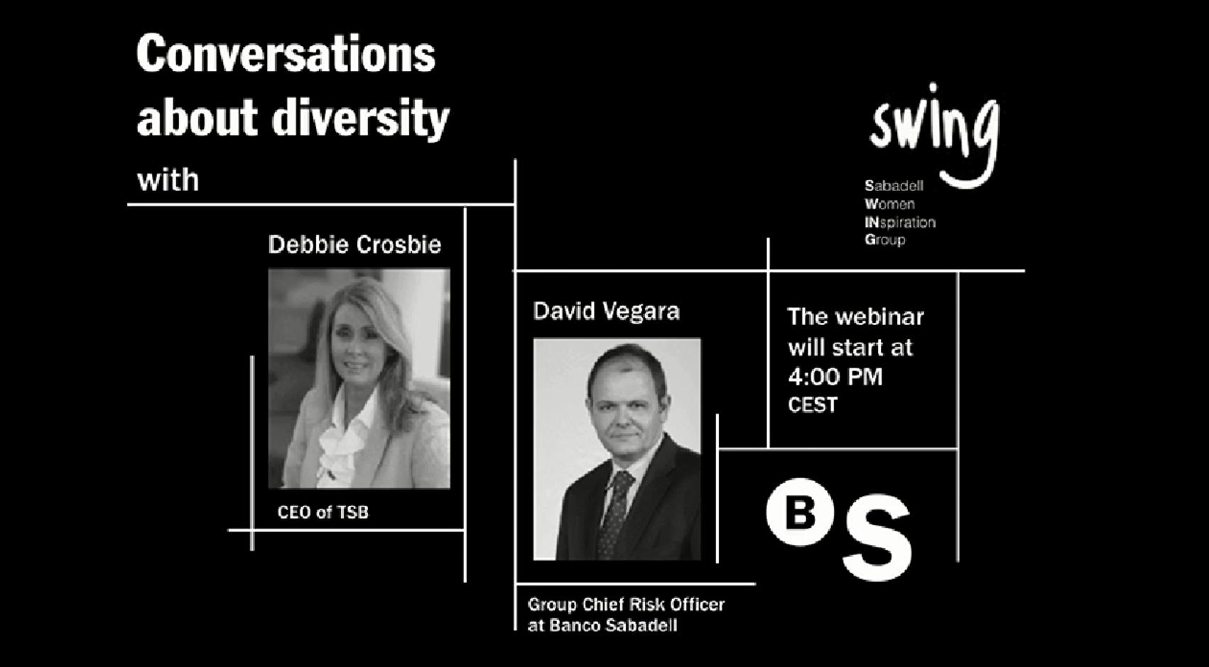 Conversaciones sobre Diversidad con Debbie Crosbie y David Vegara
