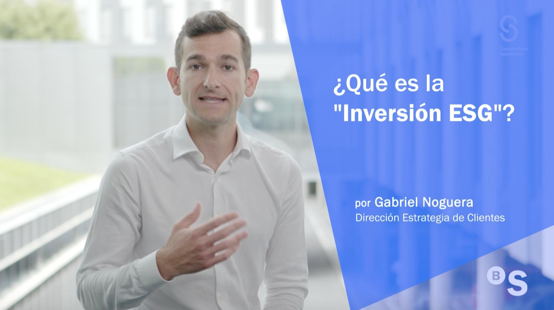 Inversión sostenible, la estrategia del futuro. Sabadell Inversor
