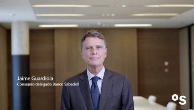 Resultats 3T20 de Banc Sabadell. Jaume Guardiola,CEO
