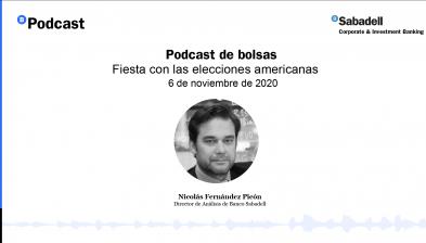 Podcast de bolsas: Fiesta con las elecciones americanas. 6 de noviembre de 2020