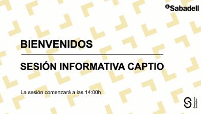 Sesión Informativa Captio