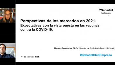 Perspectivas de los mercados en 2021. Expectativas con la vista puesta en las vacunas contra la COVID-19