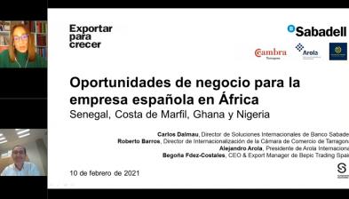 Ciclo sobre África, expectativas y realidades - Oportunidades de negocio para la empresa española en África: Senegal, Costa de Marfil, Ghana y Nigeria