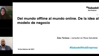 Del mundo offline al mundo online. De la idea al modelo de negocio