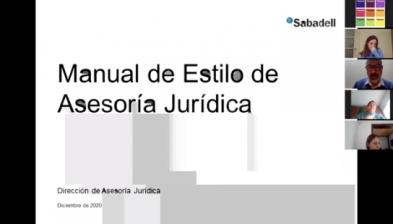 Manual de Estilo de Asesoría Jurídica. Sabadell Campus
