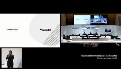 Discurso Jaime Guardiola. Junta General Accionistas 2021