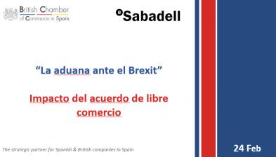 La aduana ante el Brexit