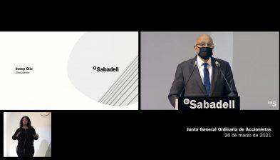 Discurso del presidente Josep Oliu. Junta General Accionistas 2021