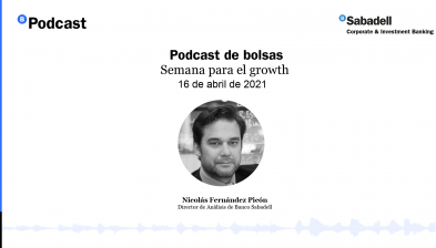 Podcast de bolsas: Semana para el growth. 16 de abril de 2021