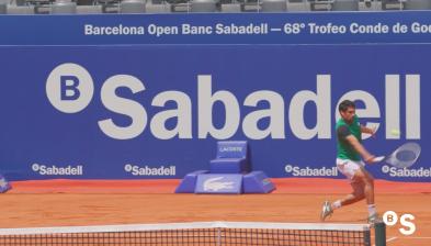 Arranca el Barcelona Open Banc Sabadell - 68º Trofeo Conde de Godó - BANCO SABADELL