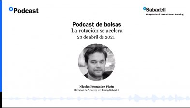 Podcast de bolsas: La rotación se acelera. 23 de abril de 2021