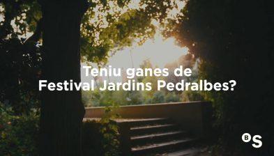 Presentación de la 9ª edición del Festival Jardins de Pedralbes 2021 en el marco del Barcelona Open Banc Sabadell - BANCO SABADELL
