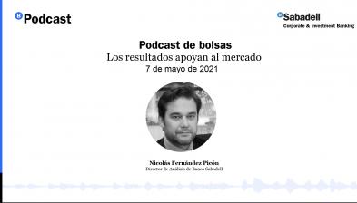 Podcast de bolsas: Los resultados apoyan al mercado. 7 de mayo de 2021