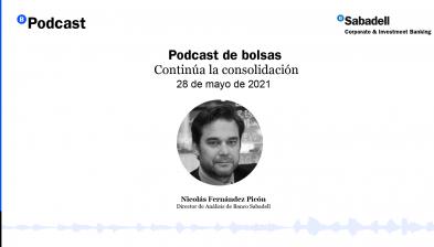 Podcast de bolsas: Continúa la consolidación. 28 de mayo de 2021