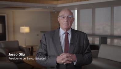 Forinvest 2021. Josep Oliu, presidente de Banco Sabadell