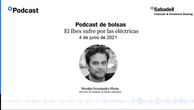 Podcast de bolsas: El Ibex sufre por las eléctricas. 04 de junio de 2021