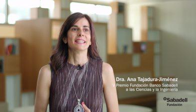 Entrevista con la Dra. Ana Tajadura-Jiménez, V Premio Fundación Banco Sabadell a las Ciencias y la Ingeniería.