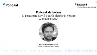 El pasaporte Covid podría alegrar el verano